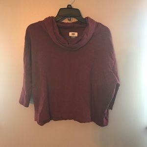 Old Navy Scarf Sweater Shirt